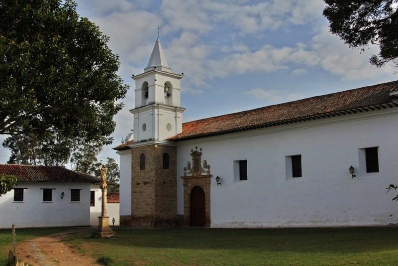 Kirche In Villa De Leyva Kolumbien